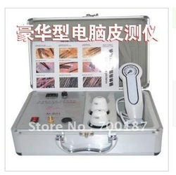 LUXURY Skin and Hair Detector Machine or Test Machine high quality wholesale price beauty equipment(China (Mainland))