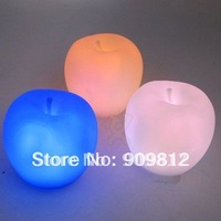 Free Shipping  Hot Selling LED Colorful Gradient Night Light, Colorful Apple Night Light, Strange new Lamp 50pcs/lot