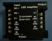 led amplifier for both RGB strip and single color strip;DC12-24V input