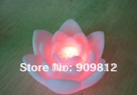 Free Shipping  Hot Selling LED Colorful Gradient Night Light, Colorful Wishing Lotus Lanterns 10pcs/lot