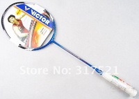 2 pieces/lot  Victor Badminton Rackets Brave Sword 12 100% carbon fibre free shipping accept Credit card