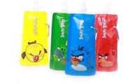 Free Shipping! Portable folding sports water bottle/foldable water bottle  480ml colorful Reusable water bottle