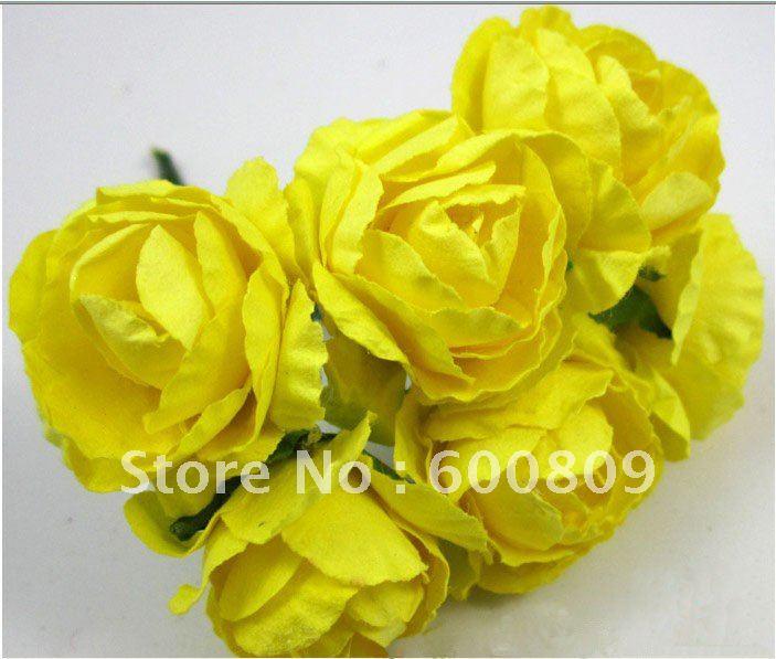 Paper Flower Roses Scrapbook