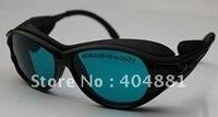 190-380 & 600-760nm laser safety goggle O.D 4+ CE certified high VLT%