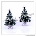 Free Shipping YH-1343, Newest Perfect Christmas Tree Cufflinks- Factory Direct Wholesales