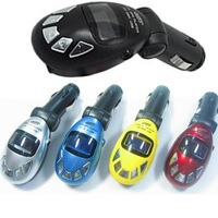 Car MP3 Player Wireless FM Transmitter USB SD MMC Slot NEW Digital Egg Car MP3 Player
