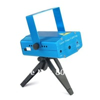 Mini Red & Green Moving projector Party Club Stage Light DJ lighting Twinkle Disco light with tripod