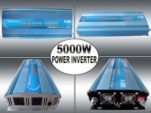 تعديل موجة السلطة العاكس 5000w 12v 220v 240v 50hz ac dc إلى السلطة الذروة 10000w ضمان سنة واحدة