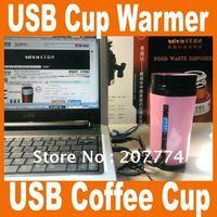 Free Shipping 5pcs/lot free shipping usb coffee cup warmer