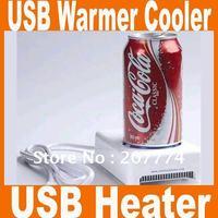 MOQ 1PCS,usb warmer cooler usb cup heater warmer cooler free shipping