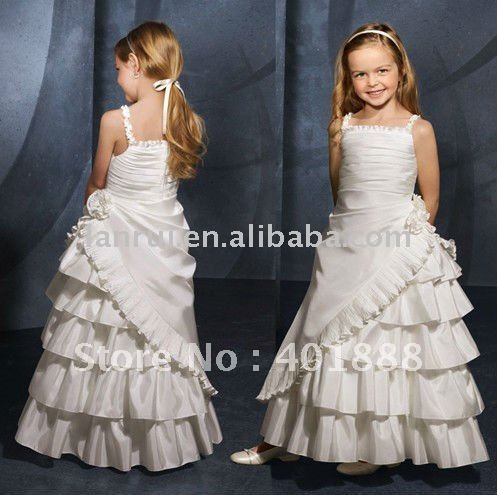 free shipping little queen party flower girl dress(China (Mainland))