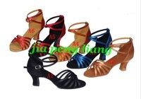 20pcs lady's Latin dance Shoes Women's Dance Shoes Ballroom shoes 6cm High Heels 21 Style Size 34-40 Free Shipping
