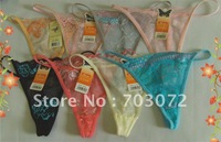 Hot sell Free Shipping 2400pcs/lot (mixed styles) Factory Lowest Price g-string g string wholesale and retail New