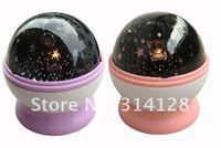 Rotating night light dill Magic Star/Star light projector lamp romantic holiday gift chinapost free shipping