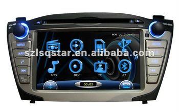Free shipping Special Hyundai IX35 car DVD GPS navigation with bluetooth, RDS, FM, TV, steer wheel control...