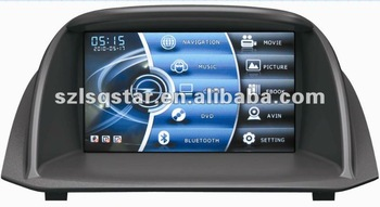 Free shipping Car dvd player for Ford Fiesta with GPS Bluetooth TV Radio ...