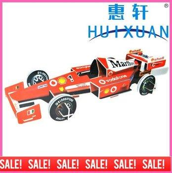3D Puzzle F1 Racing Car