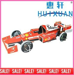 3D Puzzle F1 Racing Car(China (Mainland))
