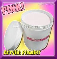 122 Free shipping 800G PROFESSIONAL PINK ACRYLIC POWDER