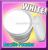 121 Free shipping 800G PROFESSIONAL ACRYLIC NAIL POWDER - WHITE