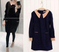 Hot selling 2011 women's winter woolen fashion dress   #0226 wholesale