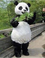 Let's Celebrate UK Zoo Panda Bear Mascot Costume CartoonGate Cartoon