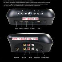 P009 NEW Portable Projector 1024x768 Home Theater EVD DVD MP4 RMVB Player w SD USB