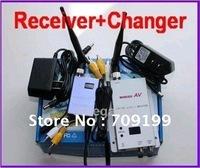 free shipping!15CH 700MW Wireless AV Video CCTV Receiver Transmitter