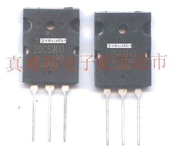 2SC5200(or TTC5200),2SA1943(or TTA1943)Symmetric Transistor for Audio Power Amplifier