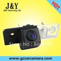 for VW SKODA FABLA( original lamp), mini and hidden 170 degree wide view lens angle reversing camera system JY-6861