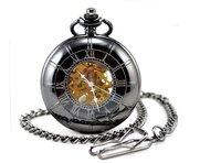 promotion British Special magnifying glass, fashion, nostalgia retro mechanical pocket watch size:45*45mm