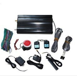 GSM car alarm system with remote controller(China (Mainland))