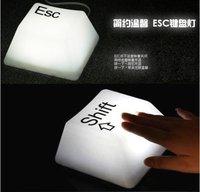 wholesale keyboard Button lamp led night lights keypress led light 4color 4 letter  5pcs/lot Free shipping Via Fedex