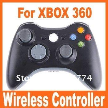 Original Genuine Game Wireless Controller for Microsoft xBox 360 wireless Controller Joypad black& white