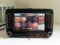 VW Golf 6 GTI Tiguan Passat B6 Polo Bora Caddy Touran Jetta CC Car DVD Player GPS Navigation Stereo MP3 MP4 Radio iPod