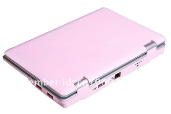 "Free shipping! 3 pcs/lot 7"" Mini WIFI computer laptop netbook android 2.2/WinCE 6.0 OS  800Mhz/2GB ,5 colours"