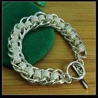 Free shipping Hot sale silver Fashion cool magic charm bracelet  YPB41