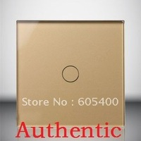 Intelligent switch / switch / switch / touch switch / switch / gold VL-C601S-13,Free shipping