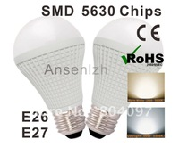 Indoor use, High quality LED light bulb E27 base Comply with CE&RoHS certificate, Ultra bright LED saving bulb + free shipping