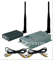 Min.3KM Long Distance! 1.2GHz 2500mW wireless AV transmitter&receiver for