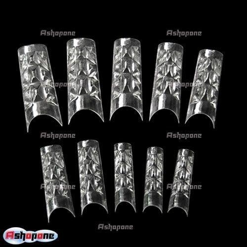 Gel Nails Clear Tips Nail Art uv Gel Tips 1754