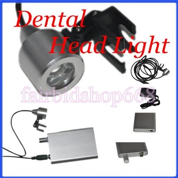 New Portable LED Head Light Lamp for Dental Surgical Medical Binocular Loupes