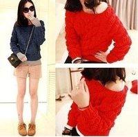 Wholesale fashion 2012  autumn and winter fashion Bubble House sweater  #1015 coat