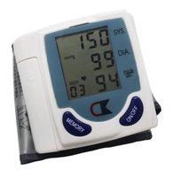 Digital Wrist Blood Pressure Monitor & Heart Beat Meter ,DHL/EMS Free-factory wholesales