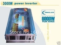 6000w MAX 3000w modified sine wave power inverter 12v/110v ONE YEAR WARRANTY