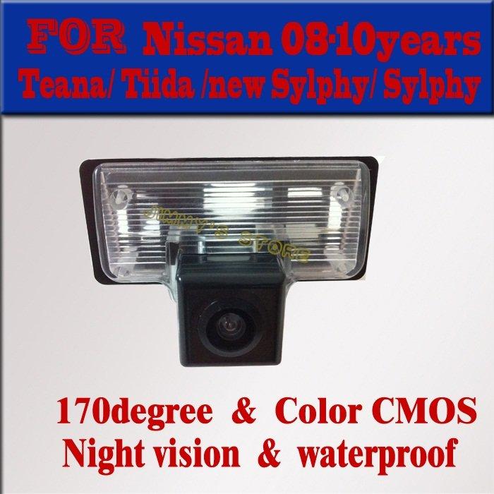 Free Shipping for NISSAN TENNA / TIIDA / Bluebird / SYLPHY Car Rear View Camera Rearview Reverse Backup night vision(China (Mainland))