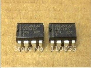 50PCS/LOT Free ship MAX485CPA brand make in china New parts MAX  DIP MAX485