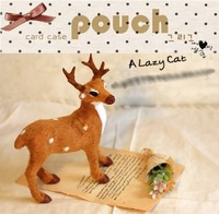 5pcs/lot Lovely MINI sika deer fashion Photographer studio Prop Hot sale