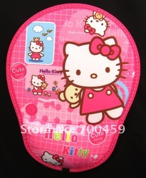 Wholesale - New 30pcs Hello kitty cute mouse pad Free Shipping(China (Mainland))