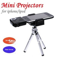 Mini Projector Multimedia Cinema Pico Projector for iPod & iPhone Dropshipping/ Free Shipping